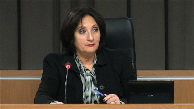 La commissaire France Charbonneau