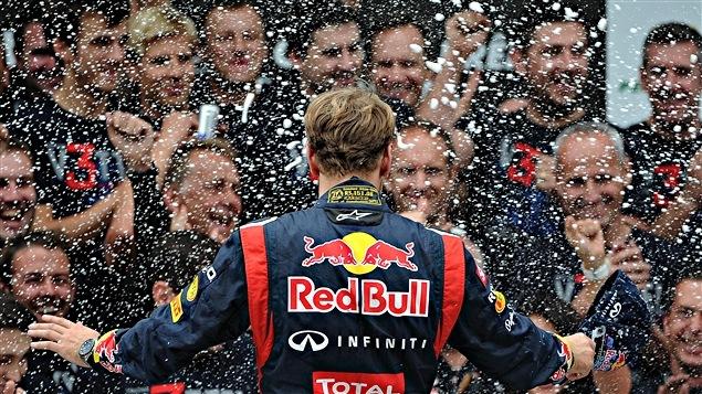 Sebastian Vettel au Brésil