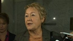 La premire ministre du Qubec, Pauline Marois