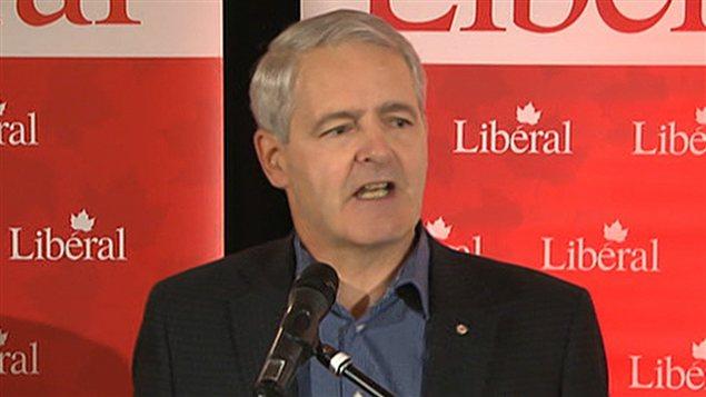 Le député de Westmount-Ville-Marie, Marc Garneau