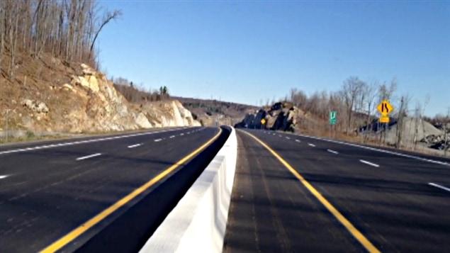 L'autoroute 50, entre Thurso et Papineauville (archives).