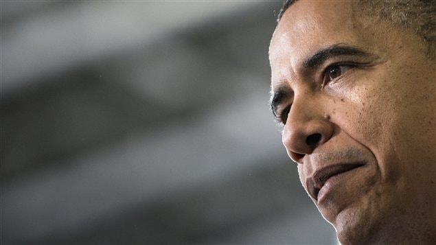 Le président Barack Obama, dans une usine de Hatfield, explique sa stratégie pour éviter le mur budgétaire.