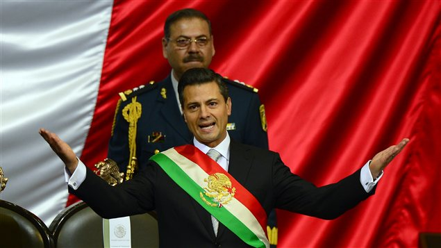 Assermentation du nouveau prsident du Mexique, Enrique Pena Nieto