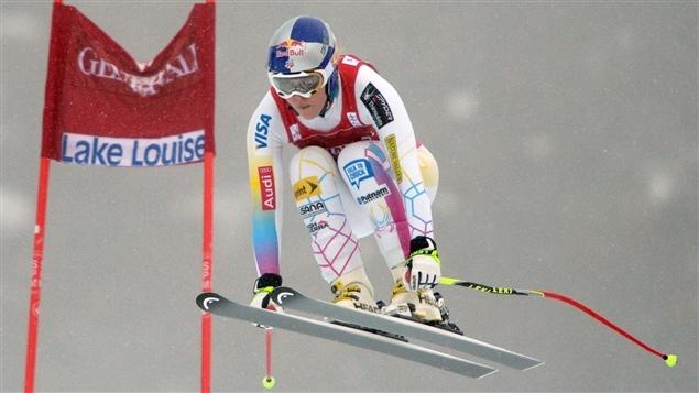L'Américaine Lindsey Vonn