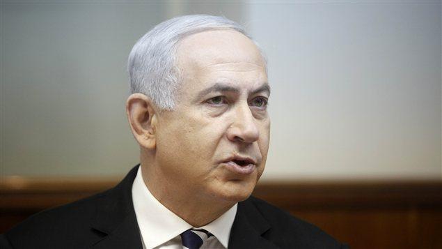 Benyamin Nétanhayou lors du conseil des ministres du gouvernement israélien, le 2 décembre.