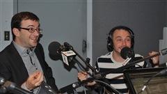 Les Zapartistes Christian Vanasse et Vincent Bolduc
