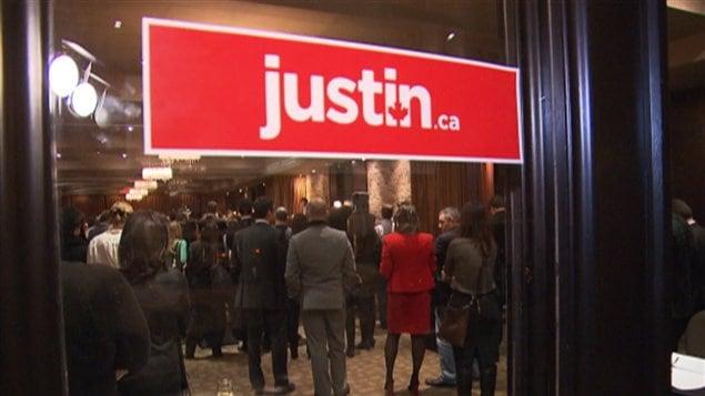 Image tirée du portrait Trudeau d'E Latraverse, diffusé au TJ22h, 4 décembre 2012.