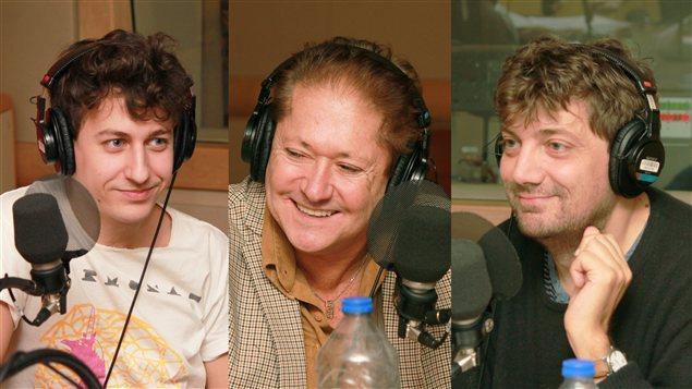 Shawn Cotton, Jean-Paul Daoust et Antonio Dominguez Leiva | © Radio-Canada / Philippe Couture