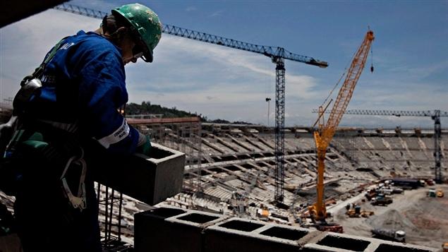 Les travaux avancent à Rio.