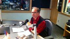 André Lamontagne, auteur du récit « Les fossoyeurs » maintenant traduit en anglais.