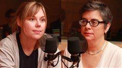 Stéphanie Harvey et Louise Gendron  ©Radio-Canada/Marie-Sandrine Auger