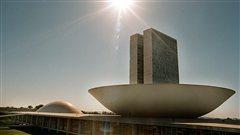 Le siège du Congrès à Brazilia