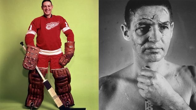 Terry Sawchuk, le gardien de but qui avait eu 400 points de souture