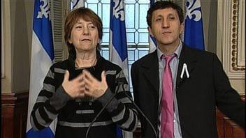 Françoise David et Amir Khadir font le bilan de la session parlementaire qui s'achève.