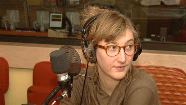Julie Delporte | � Radio-Canada / Philippe Couture