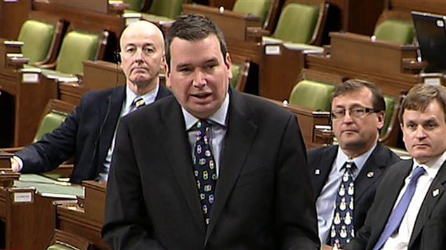 Le ministre canadien de l'Industrie, Christian Paradis