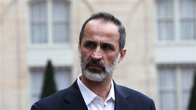 Le chef de la nouvelle coalition syrienne, Ahmed Moaz al-Khatib