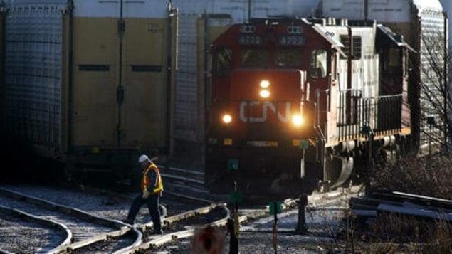 Un train du CN