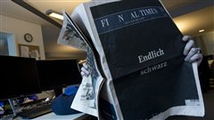 La derni�re �dition du <i>Financial Times</i> allemand
