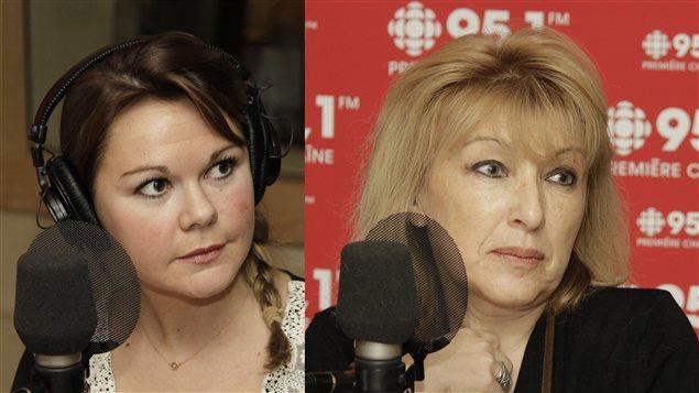 Sarah Dubord-Gagnon et Ludmilla Proujanskaia |©Radio-Canada / Philippe Couture