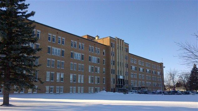 L'édifice du Clairefontaine, à Roberval, où se trouvent les bureaux du CRDI