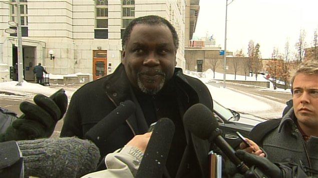 Le ministre de la Culture du Québec, Maka Kotto