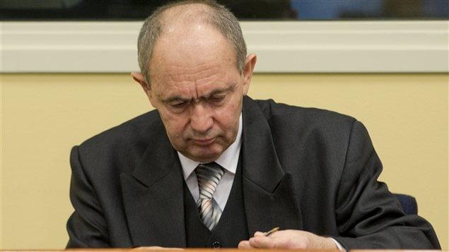 Le général Zdravko Tolimir