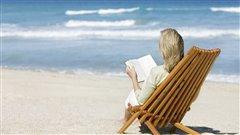 Lire sur la plage, un vrai bonheur