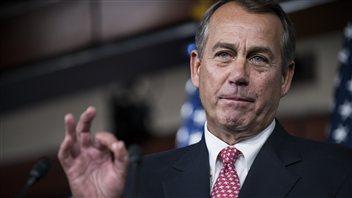 John Boehner, président de la Chambre des représentants des États-Unis
