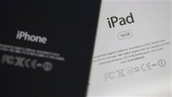 Un iPhone et un iPad