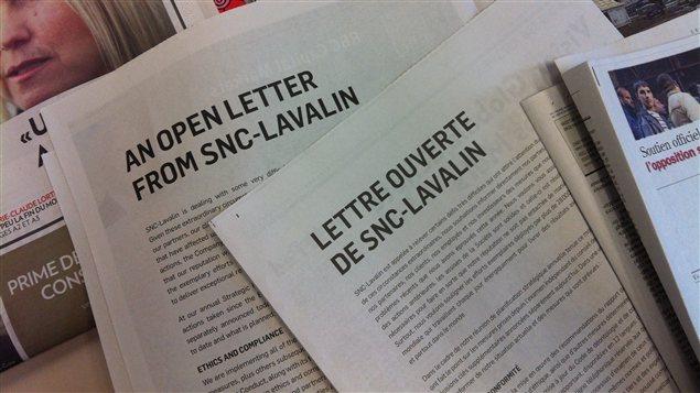 Publicités de SNC-Lavalin