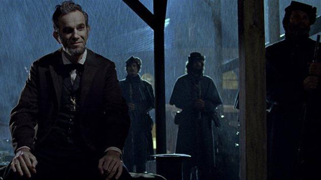 Une scène du film Lincoln de Steven Spielberg