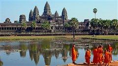 Le temple d'Angkor Vat, au Cambodge
