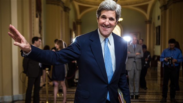 Le démocrate John Kerry
