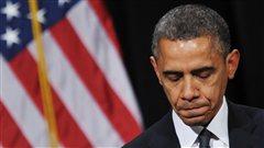 Le président américain Barack Obama lors de la cérémonie oecuménique du 16 décembre 2012