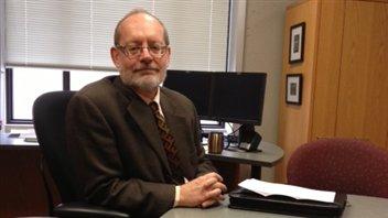 David Hannah, vice-recteur associé aux affaires étudiantes de l'Université de la Saskatchewan