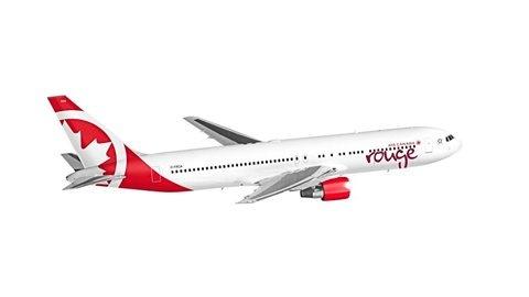 La ligne à rabais Rouge d'Air Canada dessert notamment Venise et Athènes.