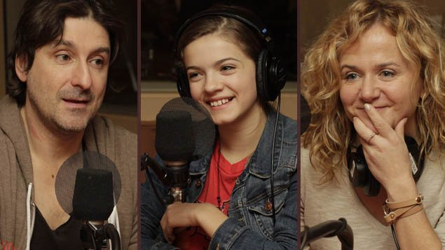 <b>Éric Tessier, Alice Morel-Michaud et Brigitte Lafleur</b> | ©Radio-Canada/Xavier Kronström Richard