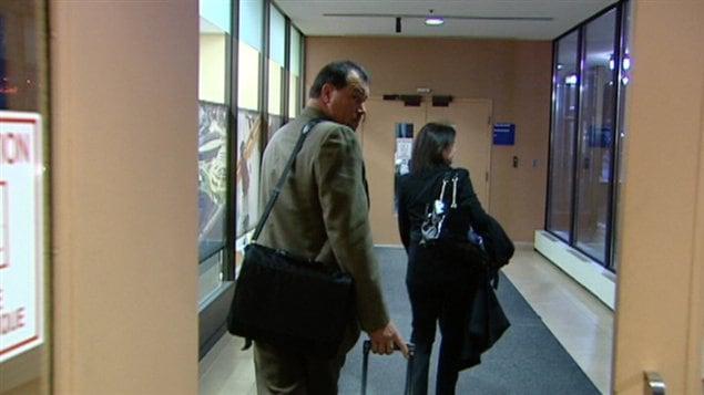 Jeffrey Greetham, un ex-policier de Gatineau, est accusé d'agression sexuelle.