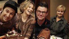 Bob le chef, Caroline Dumas, Dany St-Pierre et Lorraine Pagé  |©Radio-Canada  / Philippe Couture