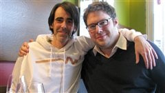 Biz et Mathieu Bock-Côté