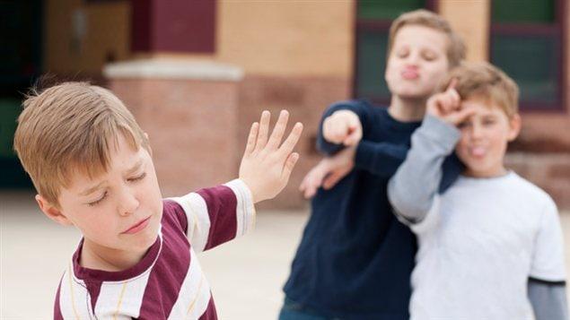 Exemple d'intimidation dans une école