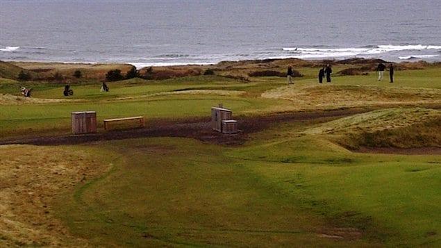 Le terrain de golf Cabot Link à Inverness