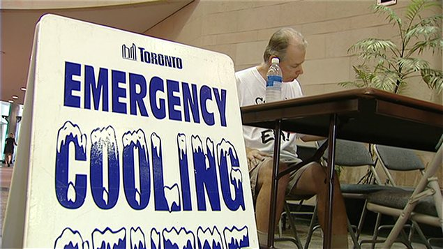 La canicule frappe Toronto en 2012