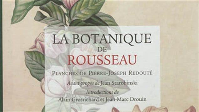 Une partie de la couverture de <i>La botanique de Rousseau</i>