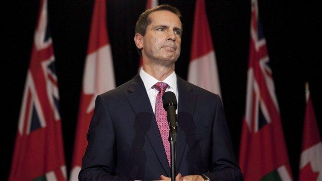 Le premier ministre de l'Ontario, Dalton McGuinty (archives)