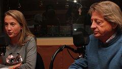 Rafa�le Germain et Georges-H�bert Germain | @Radio-Canada/C�cile Gladel