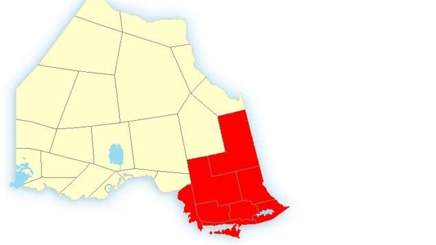 Avertissements de neige dans le Nord de l'Ontario