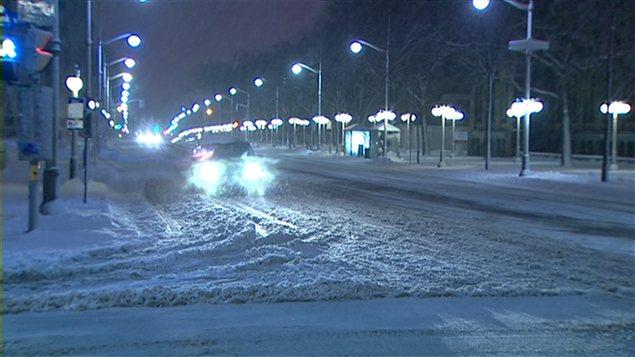 Ottawa sous la neige