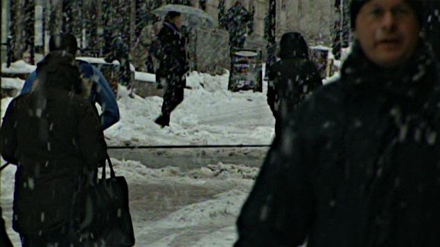 La neige s'est abattue sur la grande région d'Ottawa, en Outaouais et dans l'Est ontarien.